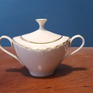 Vintage Lenox Laurent Pattern Sugar Bowl